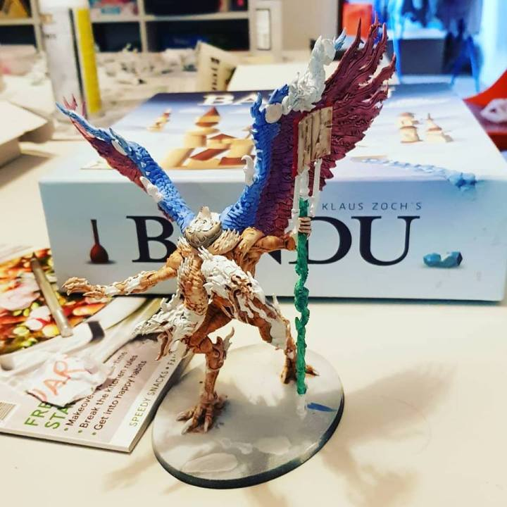 painting lord of change