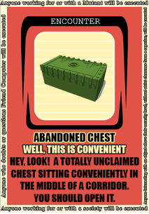 ABANDONED CHEST GREEN