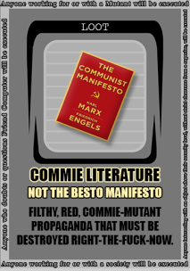 COMMIE LITERATURE 1