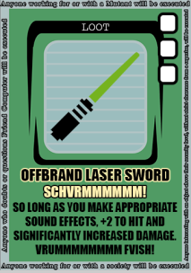 OFFBRAND LASER SWORD 2