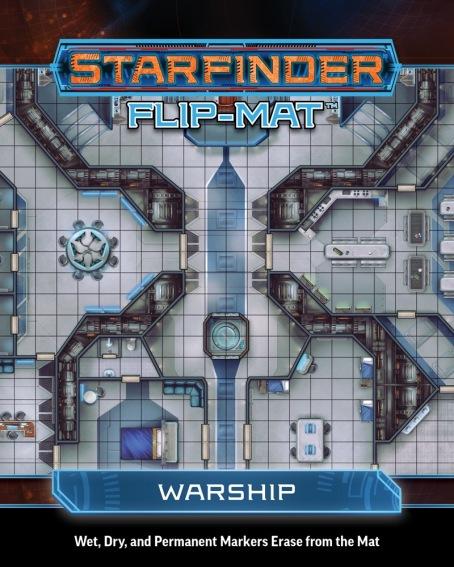 flip mat starfinder warship