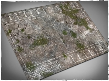 game-mat-playmat-blood-bowl-pitch-medieval-ruins