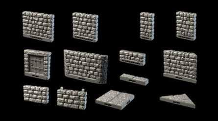 Dragonlock Ultimate: Dungeon Separate Walls