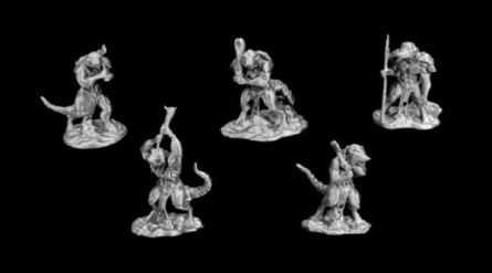 Dragonlock Ultimate: Lizardfolk Set 1