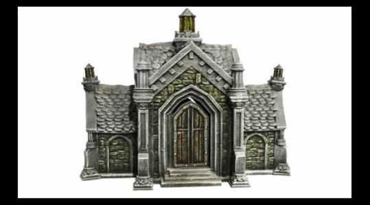 Abandoned Mausoleum