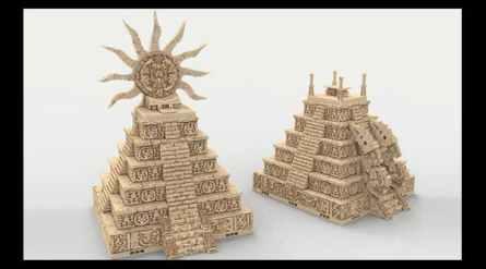Jungle City: Pyramids