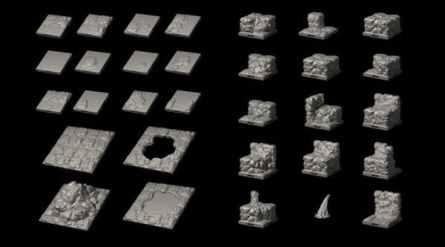 Dragonlock Ultimate: Caverns Expansion Set 1