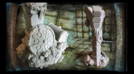 Treasure Pile with Columns