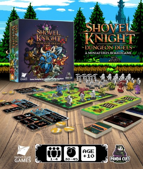 shovel knight board game