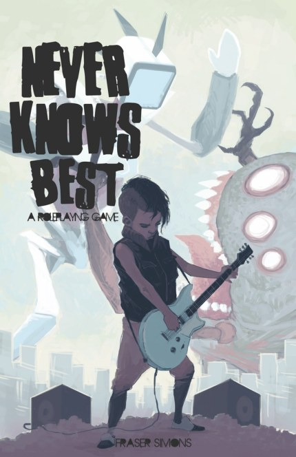 never knows best cover