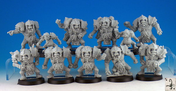 black scorpion orc team