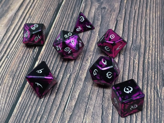 elite metal dice